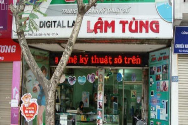 Trung tâm ảnh kỹ thuật số Lâm Tùng - Tiệm chụp ảnh thẻ lấy ngay đẹp và chất lượng