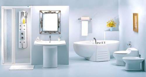 Vị trí đặt gương trong phòng tắm