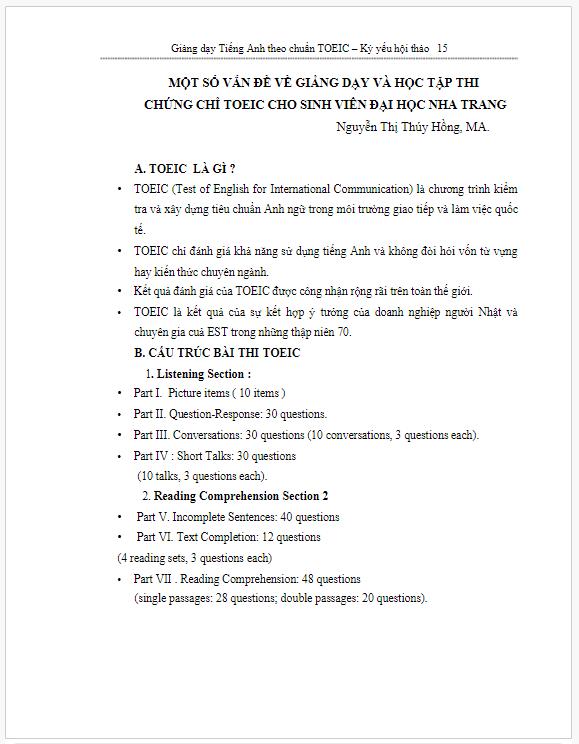 Báo cáo phương pháp học Tiếng Anh