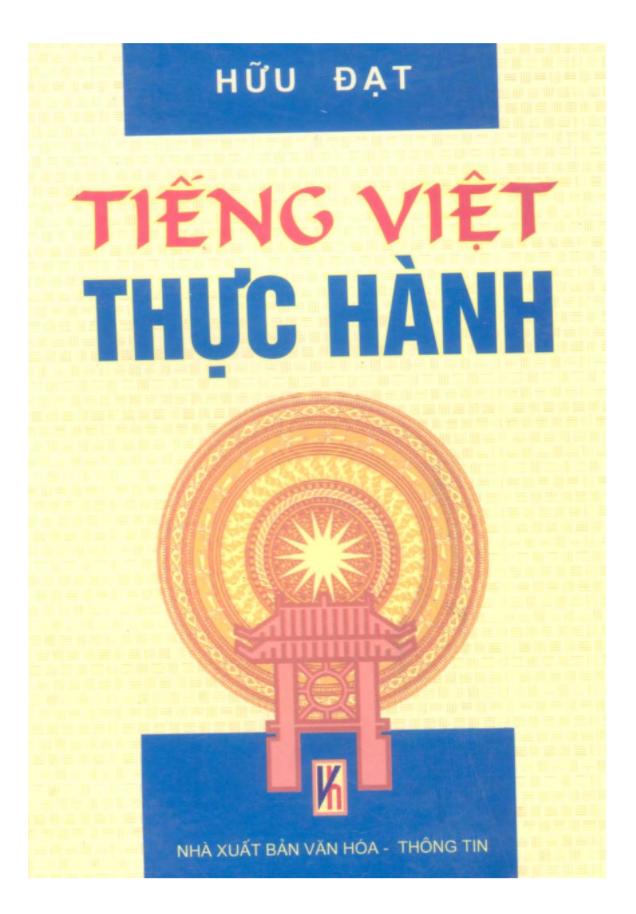 Tài liệu Tiếng Việt thực hành