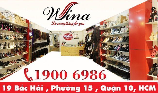 cưa hàng giày nữ Cửa hàng giày dép nữ Wina